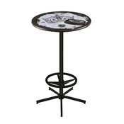 L216 - Los Angeles Kings Pub Table by Holland Bar Stool Co.