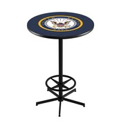 L216 - U.S. Navy Pub Table by Holland Bar Stool Co.