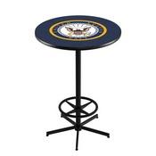 L216 - U.S. Navy Pub Table by Holland Bar Stool Co.