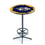 L216 - Nashville Predators Pub Table by Holland Bar Stool Co.
