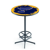L216 - St Louis Blues Pub Table by Holland Bar Stool Co.