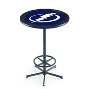L216 - Tampa Bay Lightning Pub Table by Holland Bar Stool Co.