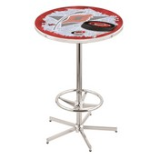 L216 - Carolina Hurricanes Pub Table by Holland Bar Stool Co.