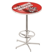 L216 - Wisconsin Badger Pub Table by Holland Bar Stool Co.