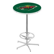 L216 - Minnesota Wild Pub Table by Holland Bar Stool Co.