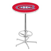 L216 - Montreal Canadiens Pub Table by Holland Bar Stool Co.