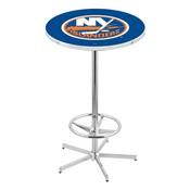 L216 - New York Islanders Pub Table by Holland Bar Stool Co.