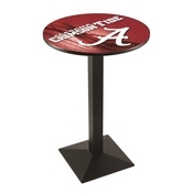 L217 - Alabama Pub Table by Holland Bar Stool Co. (ALogo)
