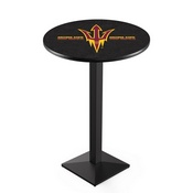 L217 - Arizona State Pub Table with Pitchfork Logo by Holland Bar Stool Co.