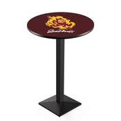 L217 - Arizona State Pub Table with Sparky Logo by Holland Bar Stool Co.