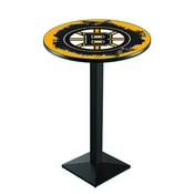 L217 - Boston Bruins Pub Table by Holland Bar Stool Co.