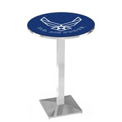 L217 - U.S. Air Force Pub Table by Holland Bar Stool Co.