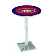 L217 - Montreal Canadiens Pub Table by Holland Bar Stool Co.