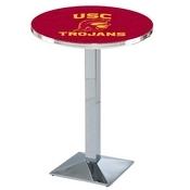 L217 - USC Trojans Pub Table by Holland Bar Stool Co.