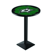 L217 - Dallas Stars Pub Table by Holland Bar Stool Co.