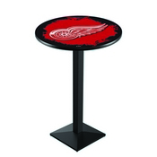 L217 - Detroit Red Wings Pub Table by Holland Bar Stool Co.
