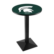 L217 - Michigan State Pub Table by Holland Bar Stool Co.