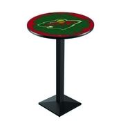 L217 - Minnesota Wild Pub Table by Holland Bar Stool Co.