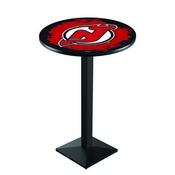 L217 - New Jersey Devils Pub Table by Holland Bar Stool Co.