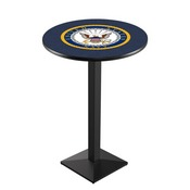 L217 - U.S. Navy Pub Table by Holland Bar Stool Co.