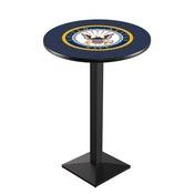 L217 - U.S. Navy Pub Table by Holland Bar Stool Co.
