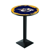 L217 - Nashville Predators Pub Table by Holland Bar Stool Co.