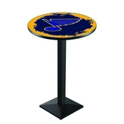 L217 - St Louis Blues Pub Table by Holland Bar Stool Co.