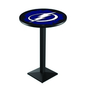 L217 - Tampa Bay Lightning Pub Table by Holland Bar Stool Co.