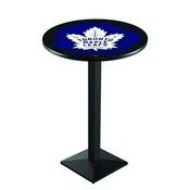 L217 - Toronto Maple Leafs Pub Table by Holland Bar Stool Co.
