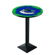 L217 - Vancouver Canucks Pub Table by Holland Bar Stool Co.
