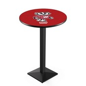 L217 - Wisconsin Badger Pub Table by Holland Bar Stool Co.