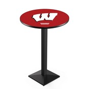 L217 - Wisconsin W Pub Table by Holland Bar Stool Co.