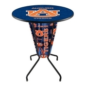 Lighted L218 - 42 Black Auburn Pub Table by Holland Bar Stool Co.