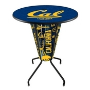 Lighted L218 - 42 Black Cal Pub Table by Holland Bar Stool Co.