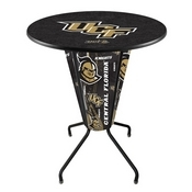 Lighted L218 - 42 Black Central Florida Pub Table by Holland Bar Stool Co.