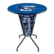Lighted L218 - 42 Black Creighton Pub Table by Holland Bar Stool Co.
