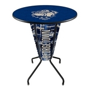 Lighted L218 - 42 Black Georgetown Pub Table by Holland Bar Stool Co.