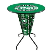 Lighted L218 - 42 Black North Dakota Pub Table by Holland Bar Stool Co.