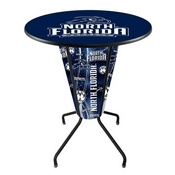 Lighted L218 - 42 Black North Florida Pub Table by Holland Bar Stool Co.