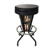 Lighted Anaheim Ducks Swivel Bar Stool By Holland Bar Stool Co.