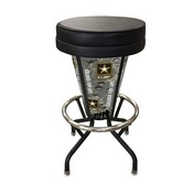 Lighted U.S. Army Swivel Bar Stool By Holland Bar Stool Co.