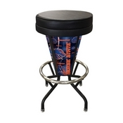 Lighted Boise State Swivel Bar Stool By Holland Bar Stool Co.