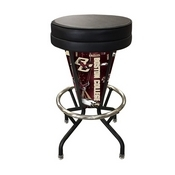 Lighted Boston College Swivel Bar Stool By Holland Bar Stool Co.