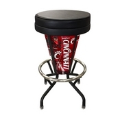 Lighted Cincinnati Swivel Bar Stool By Holland Bar Stool Co.