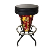 Lighted Ferris State Swivel Bar Stool By Holland Bar Stool Co.