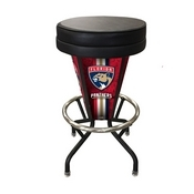 Lighted Florida Panthers Swivel Bar Stool By Holland Bar Stool Co.