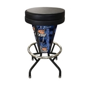 Lighted Grand Valley State Swivel Bar Stool By Holland Bar Stool Co.