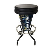 Lighted Kent State Swivel Bar Stool By Holland Bar Stool Co.