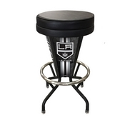 Lighted Los Angeles Kings Swivel Bar Stool By Holland Bar Stool Co.