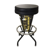 Lighted Michigan Tech Swivel Bar Stool By Holland Bar Stool Co.